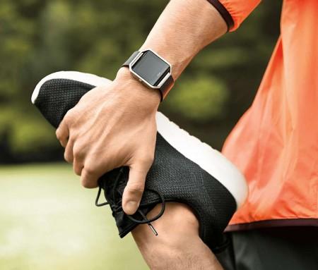 Fitbit Blaze met hardloper