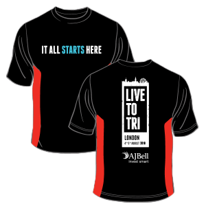 London Triathlon shirts