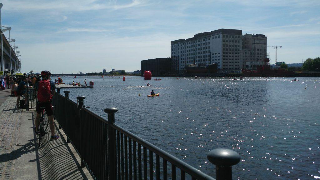 Victoria Dock, op zaterdag