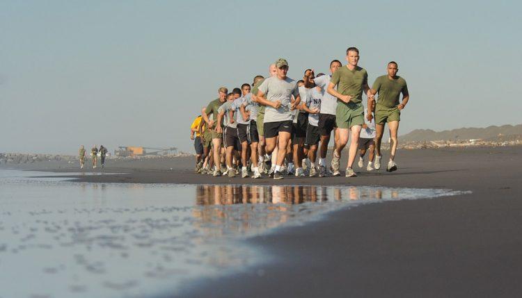 Hardlopen in een groep