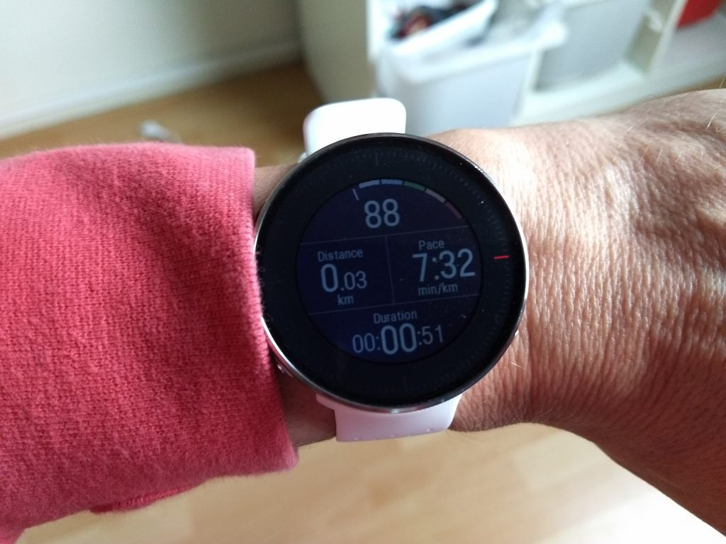 Polar Vantage review: display